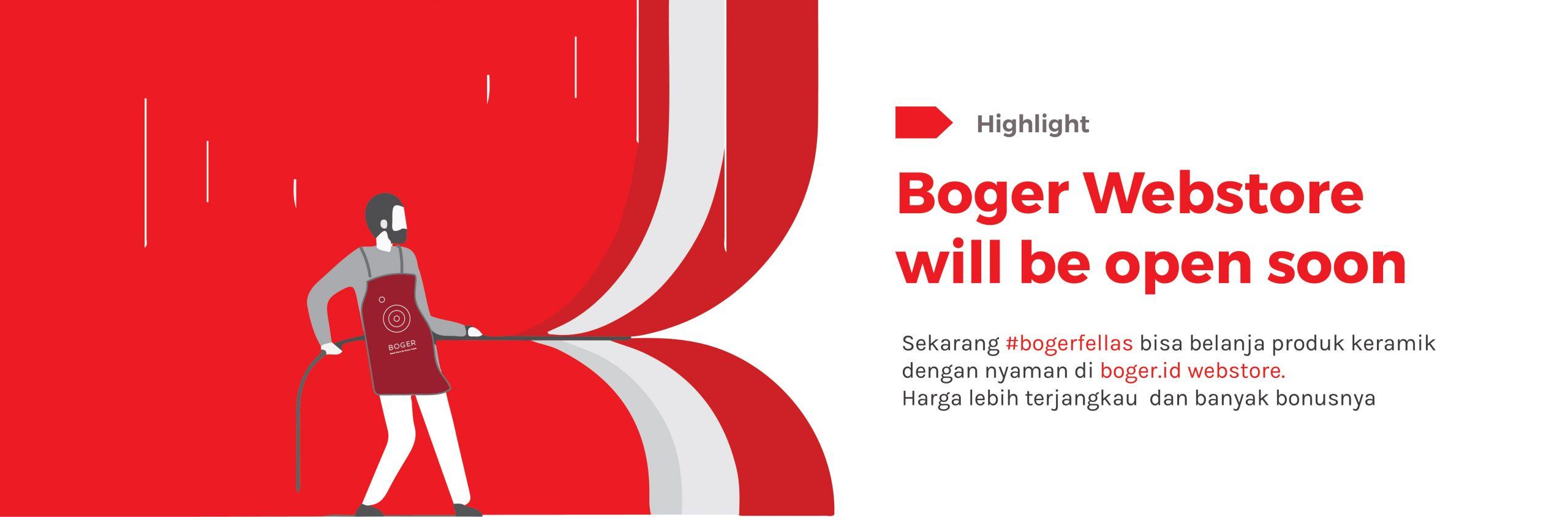 Banner Opening Boger